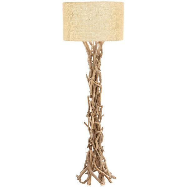 Driftwood Metal Floor Lamp   Beach Style   Floor Lamps   By GwG Outlet ❤  Liked