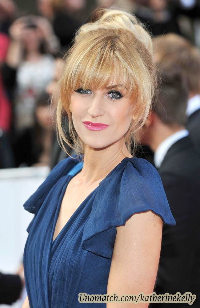 Katherine Kelly is an English actress. She played Becky in ITV soap opera Coronation Street.