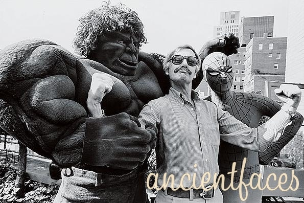 Stan Lee is a real life superhero. Creator of Spider-Man, the X-Men, and Avengers, and others, he is also the founder of the non-profit Stan Lee Foundation that is dedicated to promoting the arts and education.  Learn More: http://www.ancientfaces.com/research/photo/1250211/stan-lee-comic-book-legend-family-photo