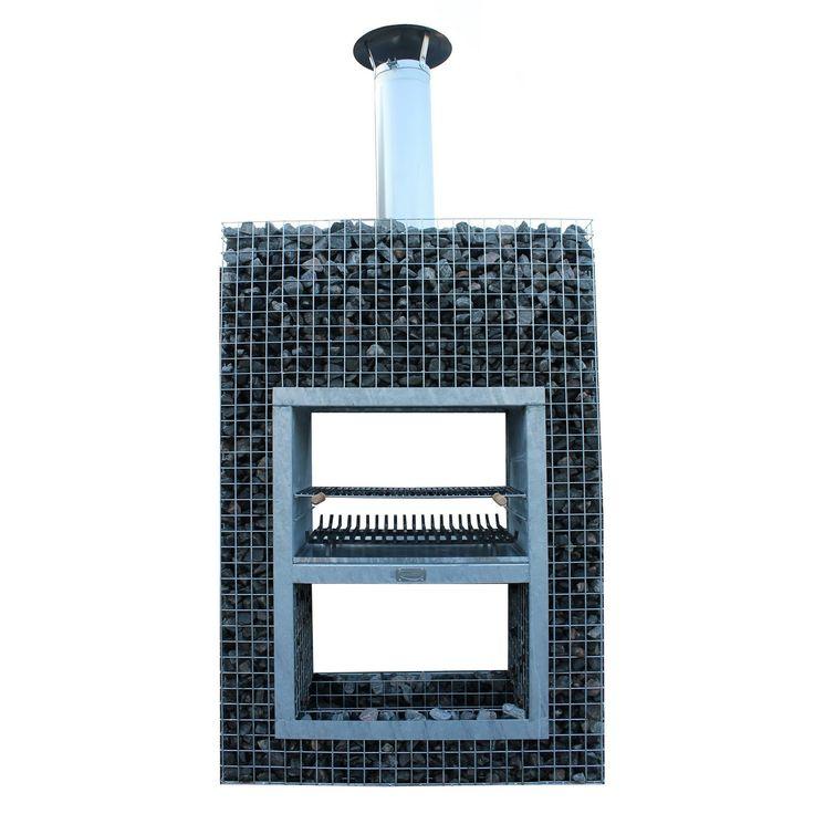 die besten 25 gabionen grill ideen auf pinterest kamin feuerstelle aus stein feuerstelle. Black Bedroom Furniture Sets. Home Design Ideas
