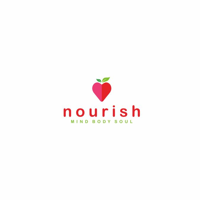 design a classy and pretty logo for a nutritionist something bright vibrant and clean looking dark neutrals light neutrals greens food drink by vanya