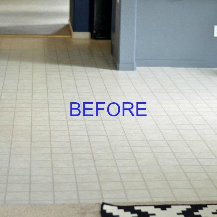how to transform an ugly linoleum floor