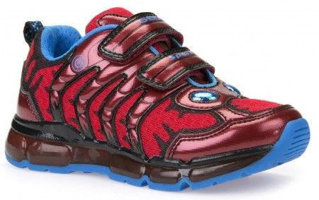 Geox Android Red Trainers - Geox Kids Shoes - Little Wanderers