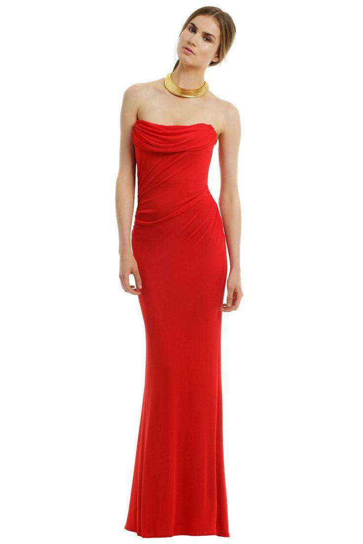 David Meister Phoenix Rising Gown