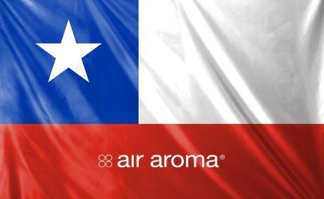 Bienvenido Air Aroma Chile!