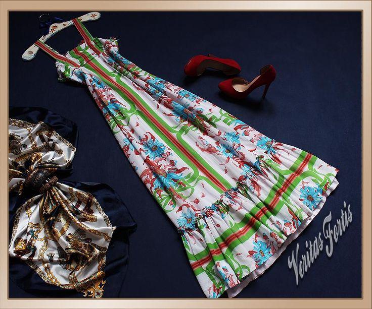 ONLY Miss Novell świetna sukienka w Kwiaty 34/36