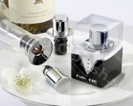 Darček Zátka a nalievačik na víno ženích http://www.coolish.sk/sk/originalne-svadobne-darceky/zatka-a-nalievacik-na-vino-zenich