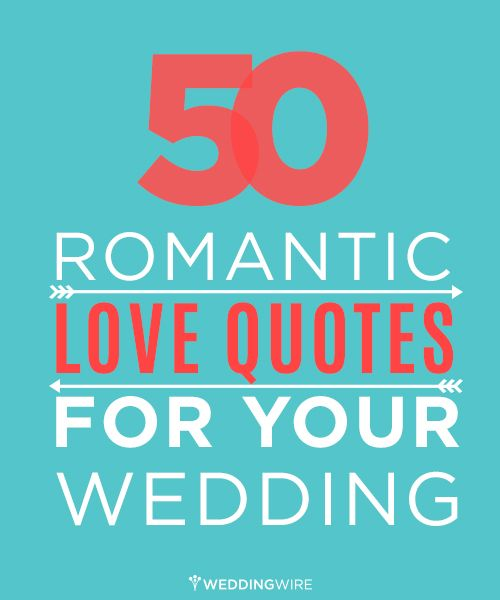 50 romantic love quotes for your wedding MustSee