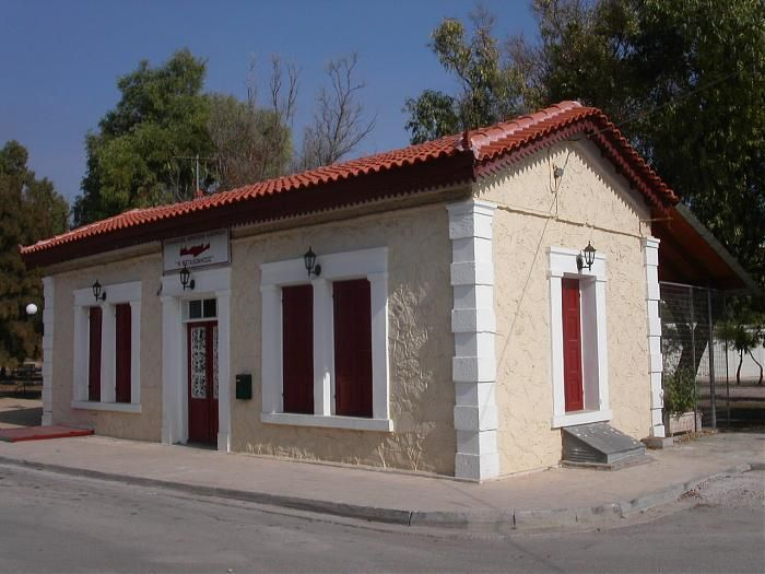 Old railway station of Lavrio Attica