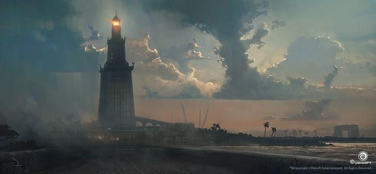 Assassin's Creed Origins, Martin Deschambault on ArtStation at https://www.artstation.com/artwork/lqwmG
