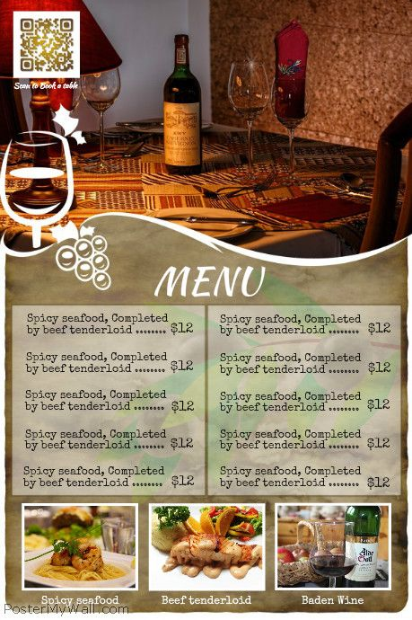 101 best RESTAURANT FLYERS (DIY) images on Pinterest Flyers - restaurant flyer