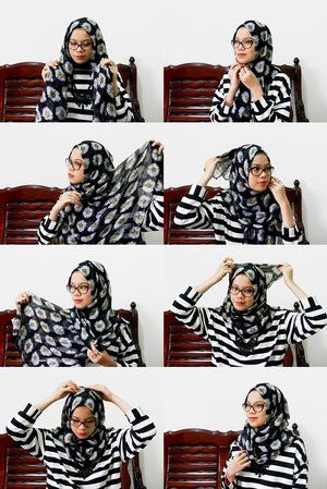 Let's take a look on my daily hijab tutorial, Clozetters! XO