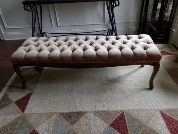 Tufted Bench $200
