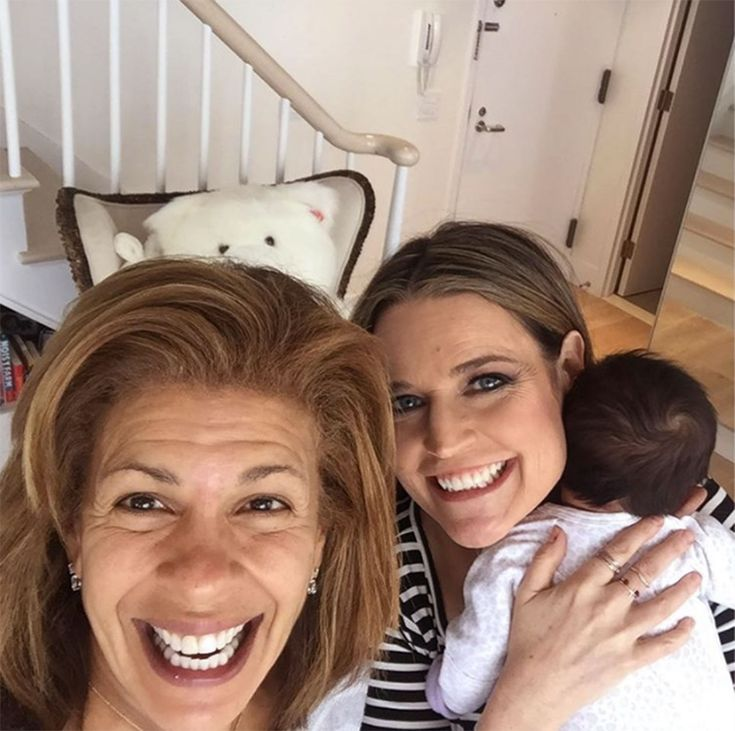 Hoda Kotb Learns How to Swaddle Daughter Haley with a Little Help From Savannah Guthrie