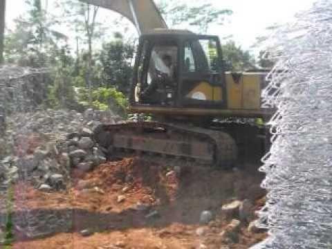 Jual Bronjong Kawat Pabrikasi Manual Murah Bandung