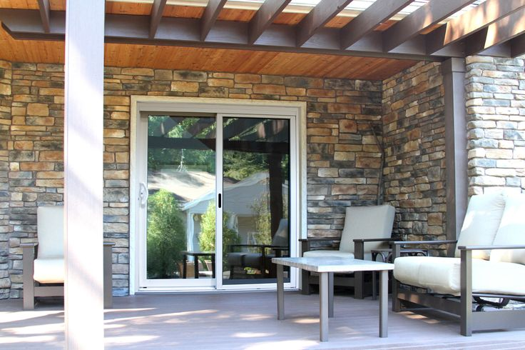 ProViau0027s Aspect vinyl sliding glass patio doors feature a high-tech glass package that measurably & 10 best Posh Patio Doors images on Pinterest | Entrance doors Front ...