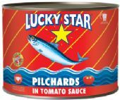Lucky Star Pilchards in Tomato Sauce