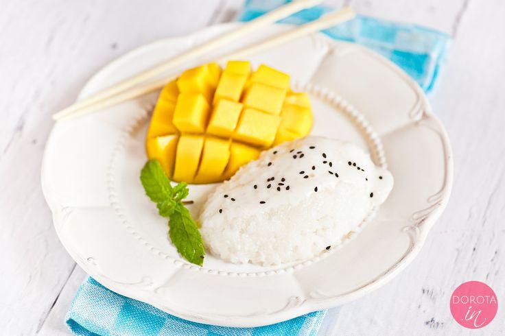 Sticky rice – kleisty ryż z mango