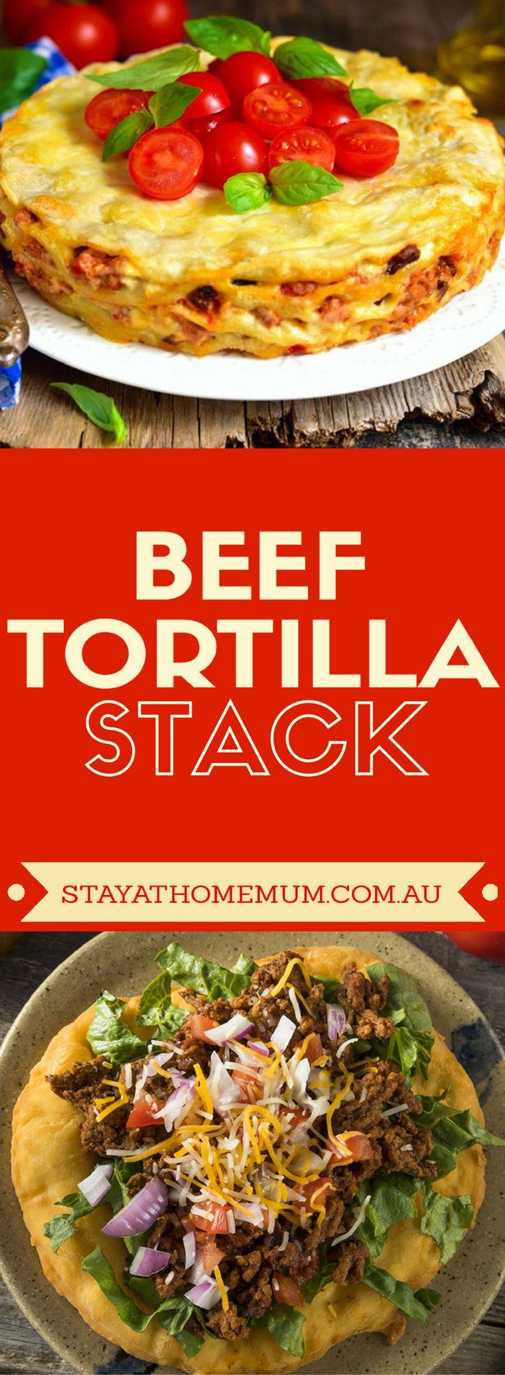 Like lasagne, but really flavourful! #beef #recipes