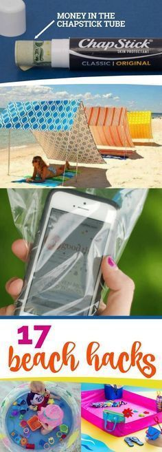 17 Beach Hacks That Are Totally Awesome! - Tap on the link to see the newly released collections for amazing beach bikinis! :D
