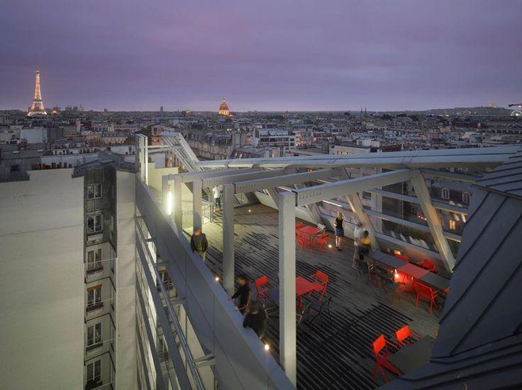 Hpital Necker, Paris, 2013 - VALERO GADAN ARCHITECTES, Ateliers Jean Nouvel #terrace