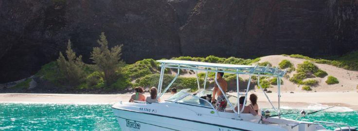 Napali Boat Tours - Honopu Beach, Kauai