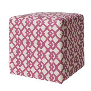 Jennifer Taylor William pink ottoman