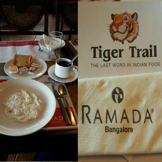 Yummy breakfast at Ramada hotel