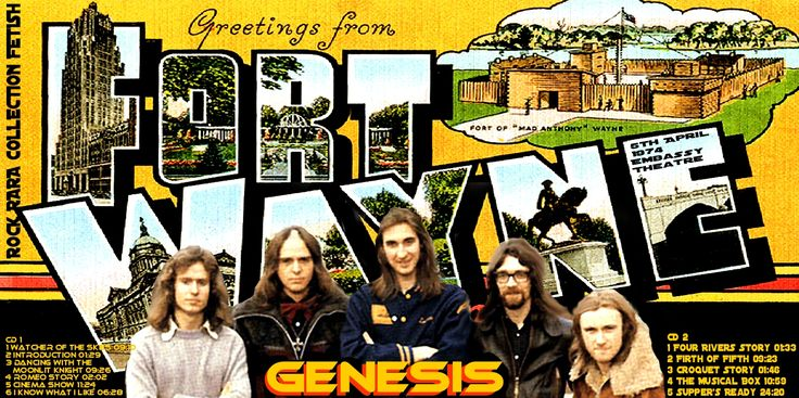 GENESIS - Embassy Theatre Fort Wayne Indiana 5 April 1974 ARTISTIC COVER Of DANILO JANS ART Dal sito ROCK RARE COLLECTION FETISH rockrarecollectio... e DANILO JANS ART danilojansart.blo... Works of Danilo JANS executed in mixed media . Visionary artist and surrealist Italian , creates his works thanks to a connection with parallel universes. Danilo Jans was born in 1957 and lives in Pont Saint Martin in the Aosta Valley ( Italy )