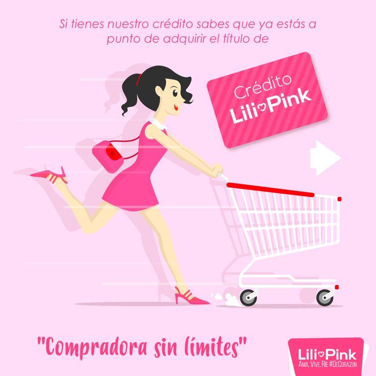 El crédito Lili Pink te dará la libertad de antojarte de todo. Ama, Vive, Ríe #DeCorazon  No dejes pasar el 2x1 en Lili Pink, visítanos.