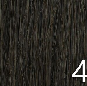 No 4 - Medium Brown 100% Human Hair Weave Extensions