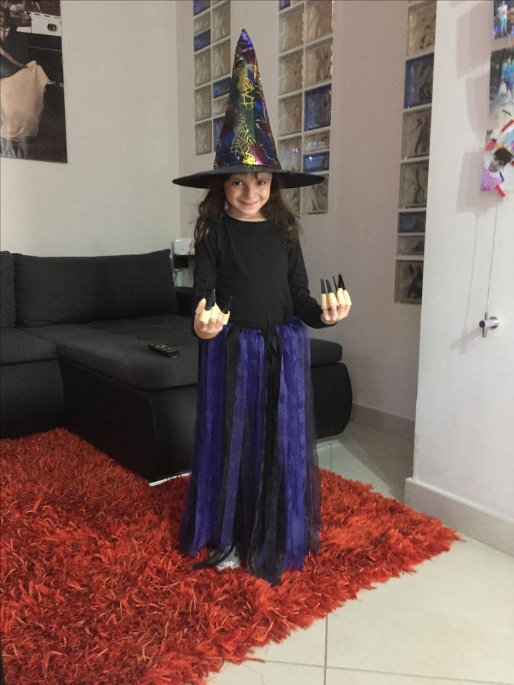 Vestito da strega fai da te