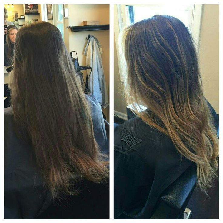 Cut and color by Carly #balayage #aveda #avedablonde