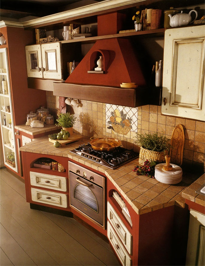 Bellissimo angolo cucina..mi piace!
