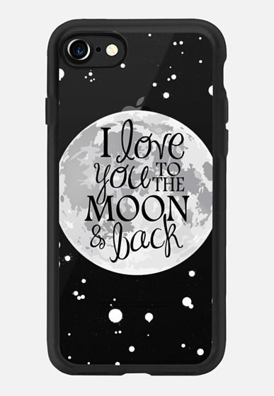 Casetify iPhone 7 Classic Grip Case - To the Moon and Back by The Olive Tree #Casetify