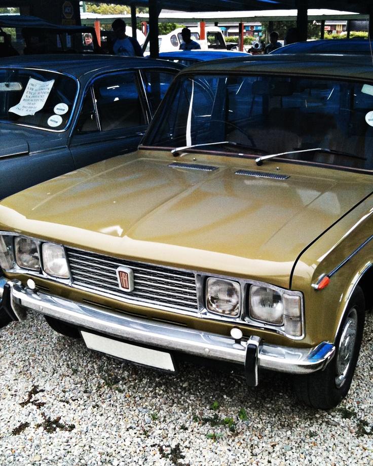 Fiat 125 in Sedgefield...