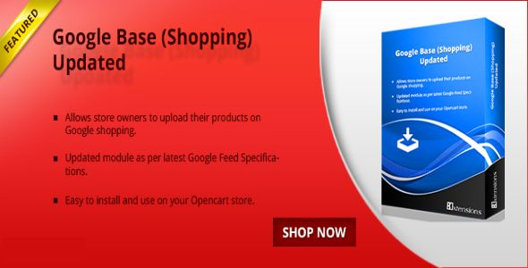 cool Download Opencart Google Shopping Product Feed