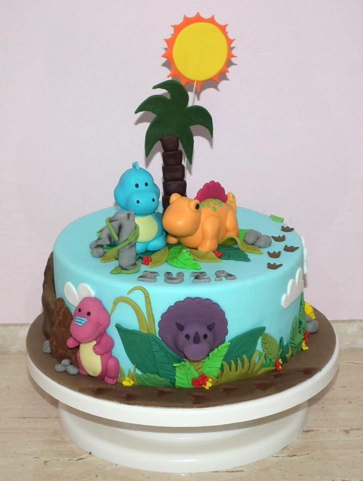 Tort z dinozaurami/ Dino cake