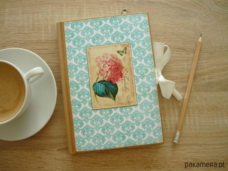 albumy, notesy, pamiętniki-Notes Notatnik Pamiętnik - w linie