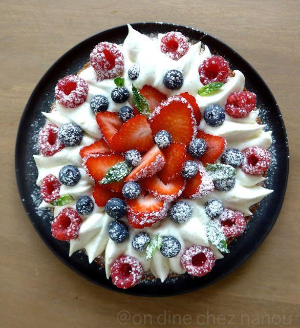 Fantastik aux fraises et fruits rouges #Michalak#bondessert