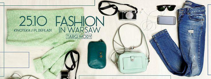 Jesienna edycja targów Fashion in Warsaw, 25 października, Kinoteka w Pałacu Kultury i Nauki - 50 polskich wystawców!