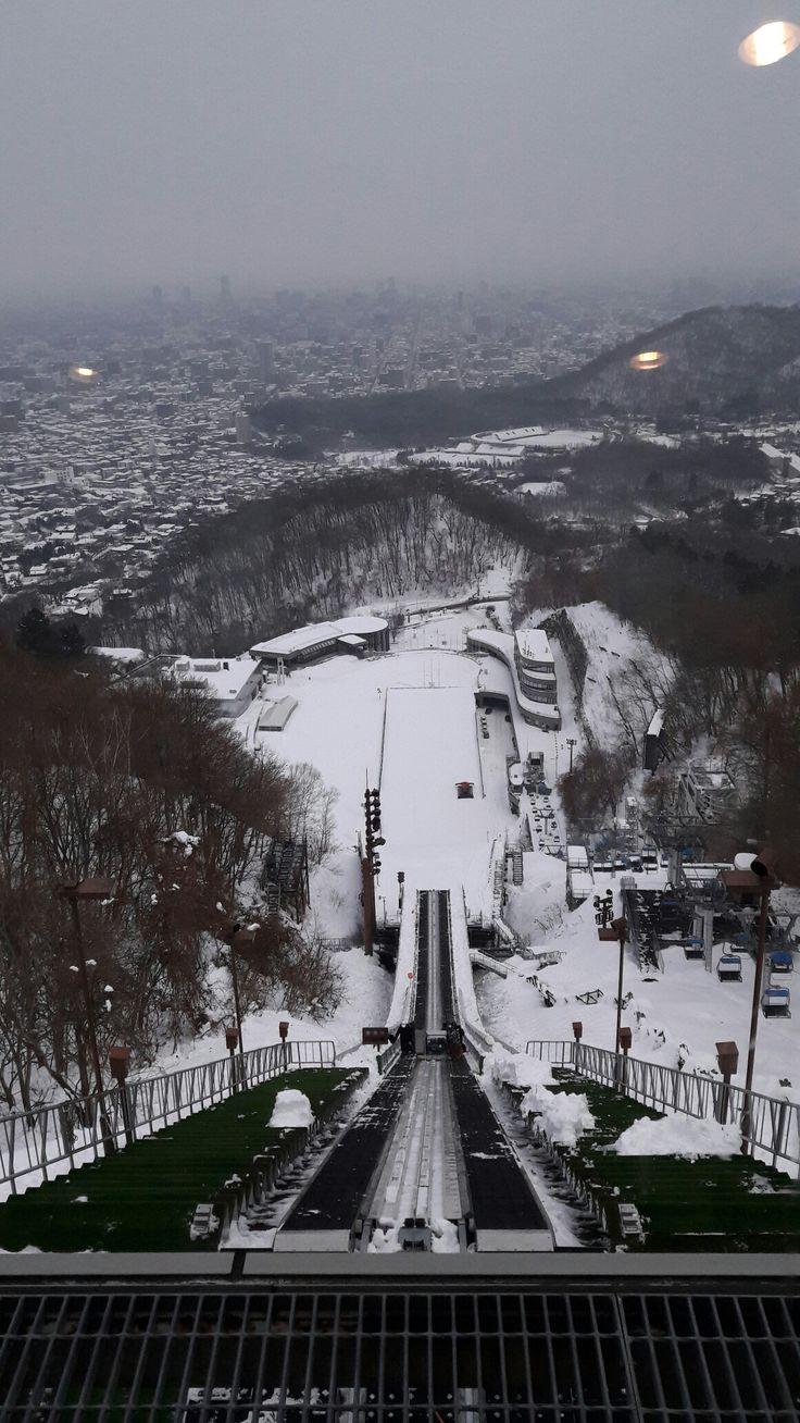 Ski jump ~~~