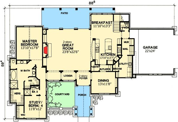 35 Best Images About Floor Plan On Pinterest House Plans