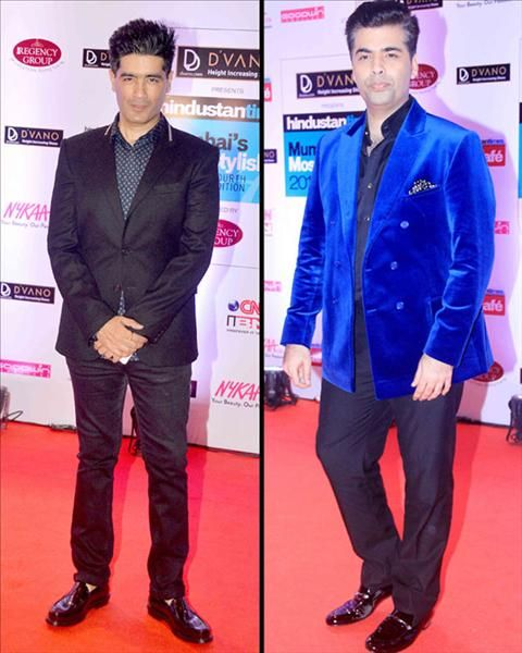 Film-maker Karan Johar and popular fashion designer Manish Malhotra were also present at HT Style Awards. See more celebrities pictures only on www.biscoot.com