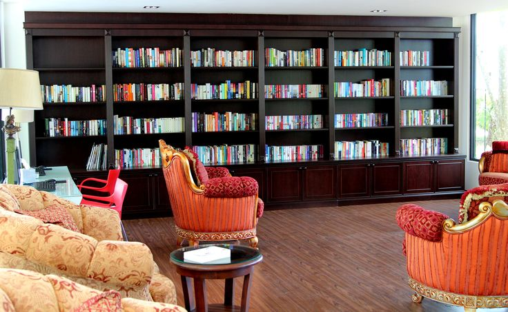 The Orchard Library - A great space to relax and enjoying a good book. #vacation  #holiday