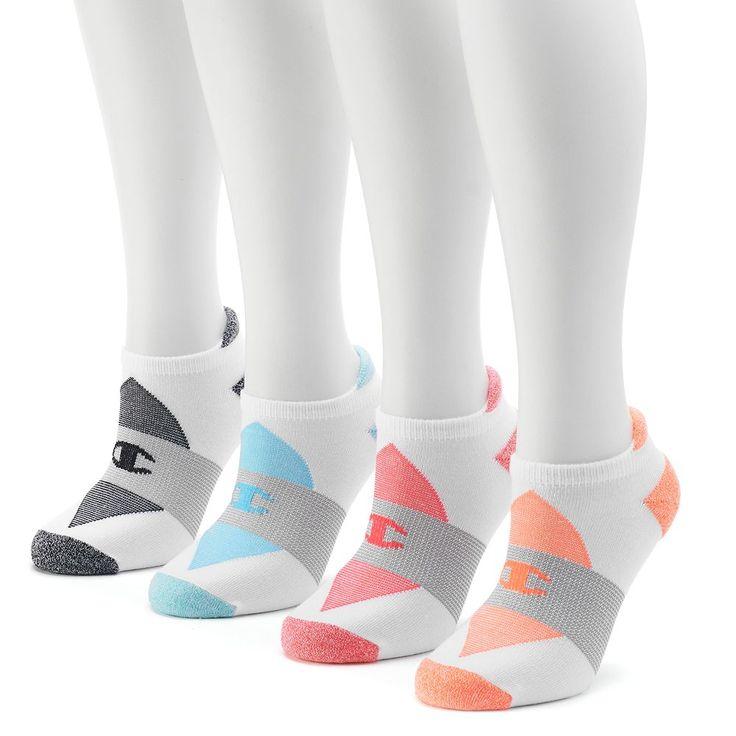 Champion Women's 4-pk. Performance Low-Cut Socks, Size: 9-11, Multicolor