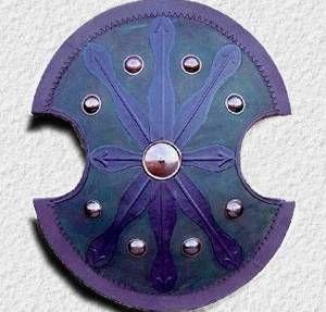 Life Size Spartan Warrior Shield