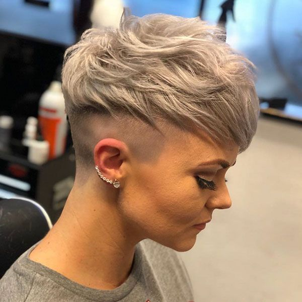 Undercut Pixie Messy Pixie Haircut Very Short Hair Pixie Haircut