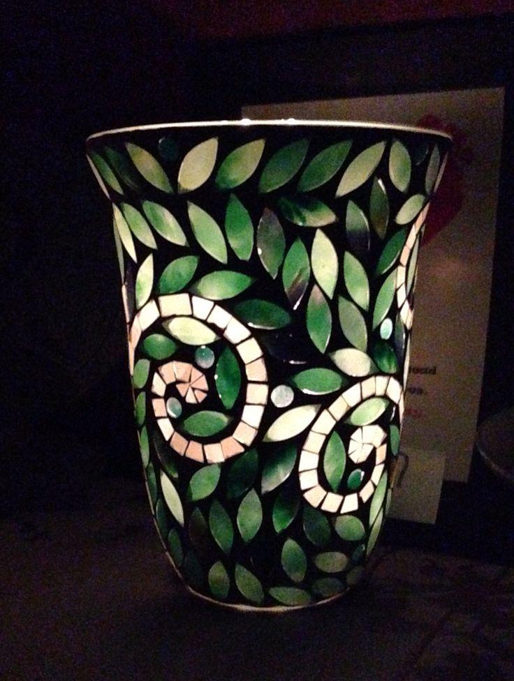 Vine mosaic hurricane by Partylite. Love it!!