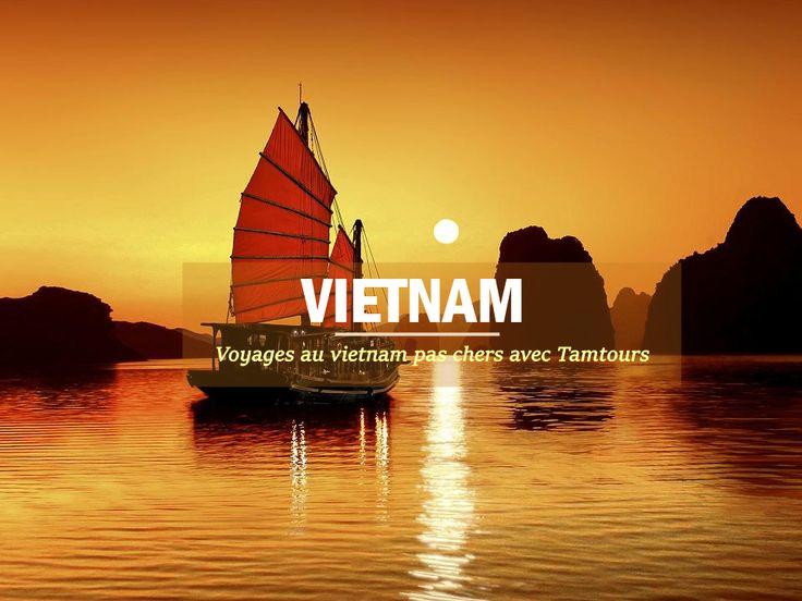 Voyage de découvertes au Vietnam devient plus facile et efficace avec Tamtours. 99% de satisfaction. Réserver en ligne pour une promotion de 15%.  #voyageauvietnam #voyagevietnam